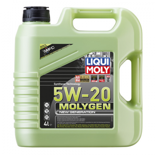 Моторное масло Liqui Moly Molygen NeW Generation 5W-20 в СПб