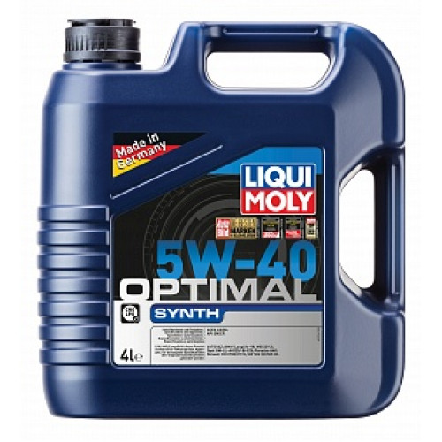 Моторное масло Liqui Moly Optimal Synth 5W-40 в СПб